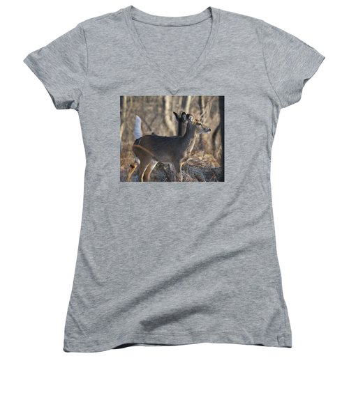 Wild Deer Women's V-Neck