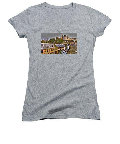 Windsor Castle Women's V-Neck T-Shirt