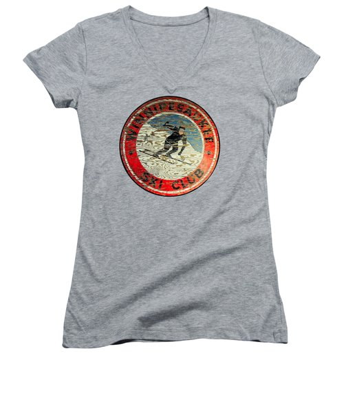 Winnipesaukee Ski Club Women's V-Neck T-Shirt