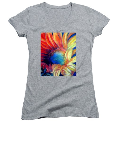 Your Passion Becomes My Passion Women's V-Neck (Athletic Fit)