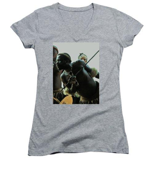 Zulu Warrior Women's V-Neck T-Shirt