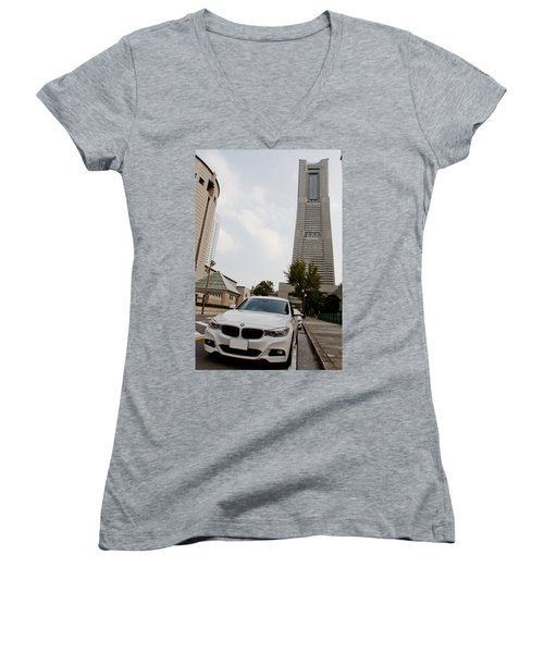 BMW Women's V-Neck