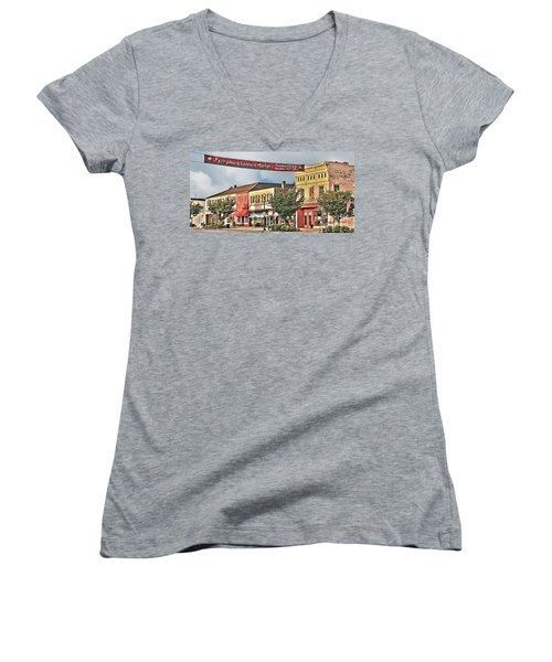 Downtown Perrysburg Women's V-Neck (Athletic Fit)