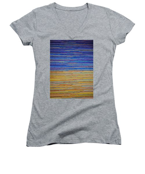 Identity Women's V-Neck T-Shirt (Junior Cut) by Kyung Hee Hogg