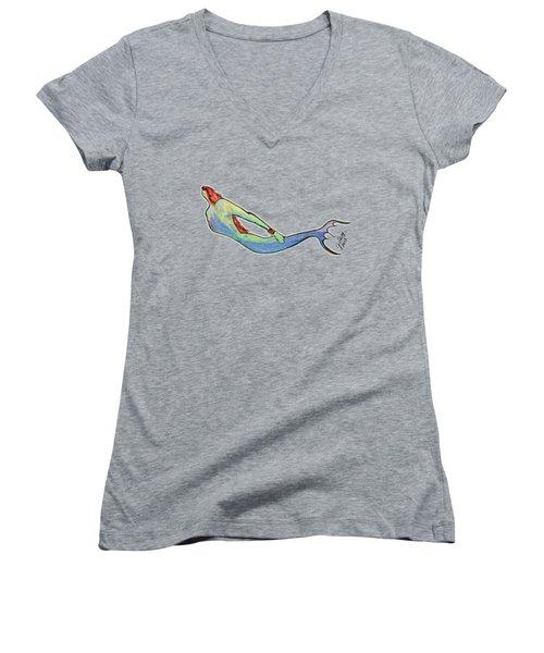 Mermaid Women's V-Neck T-Shirt