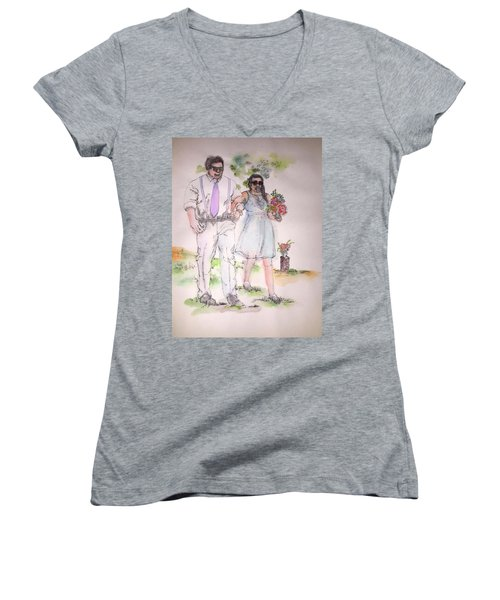 The Wedding Album  Women's V-Neck T-Shirt