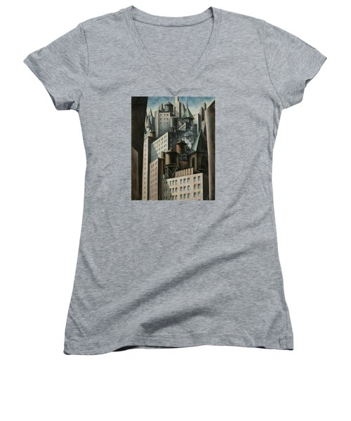 14th Street New York City Women's V-Neck