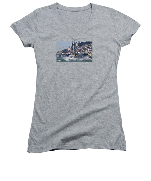 Oracle America's Cup Women's V-Neck