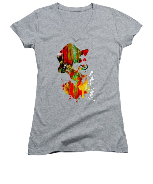 Frank Sinatra Collection Women's V-Neck T-Shirt