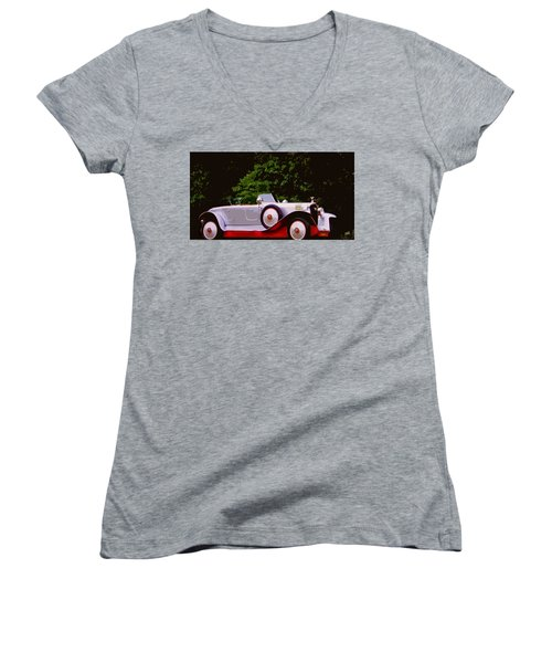 1921 Farman A6b Super Sport Torpedo Women's V-Neck T-Shirt