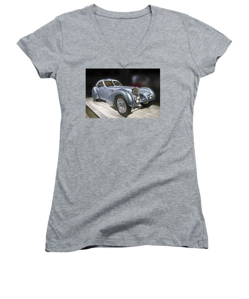 1926 Bugatti Women's V-Neck (Athletic Fit)
