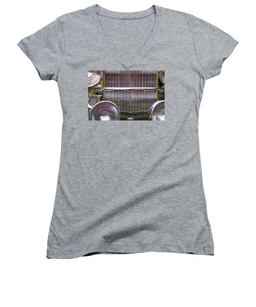 1932 Packard 903 Women's V-Neck (Athletic Fit)