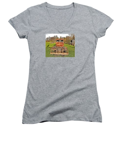 1941 Dodge Truck 3 Women's V-Neck (Athletic Fit)