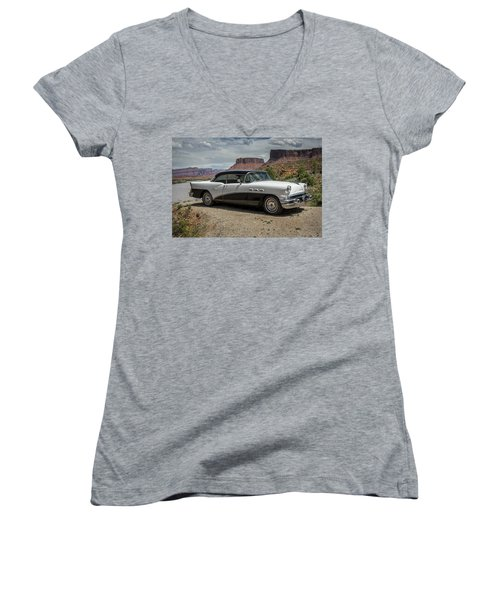 1956 Buick Special Women's V-Neck