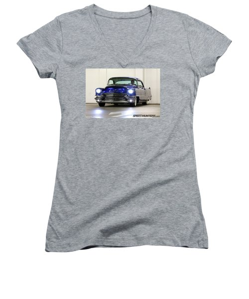 1956 Cadillac Women's V-Neck