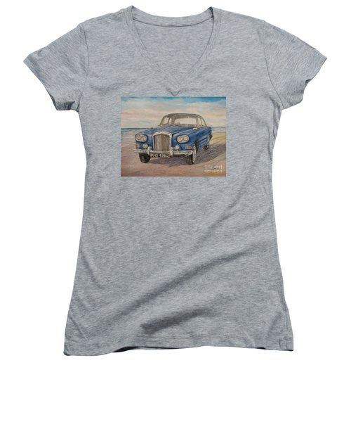 1963 Bentley Continental S3 Coupe Women's V-Neck