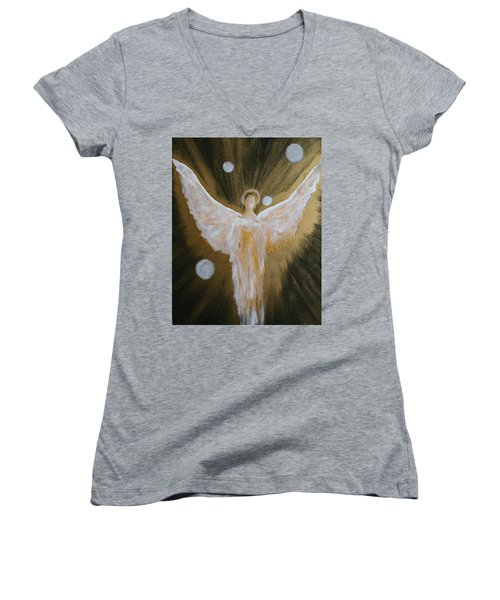 Angels Of Light Women's V-Neck T-Shirt