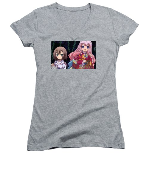 Baka And Test Women's V-Neck