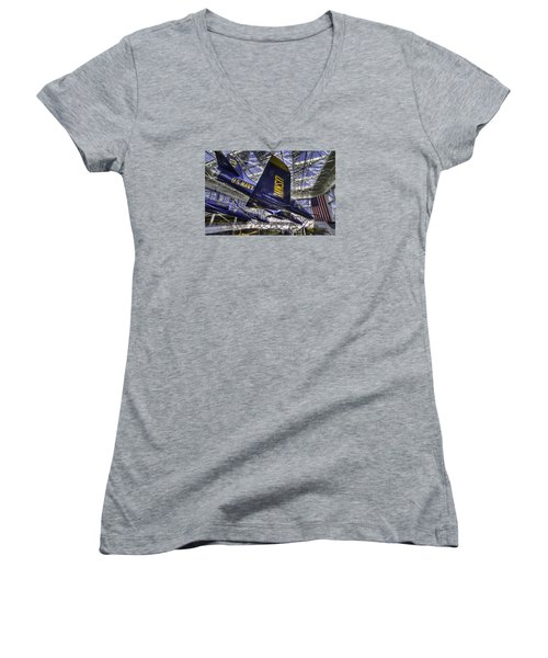 Blue Angels Women's V-Neck