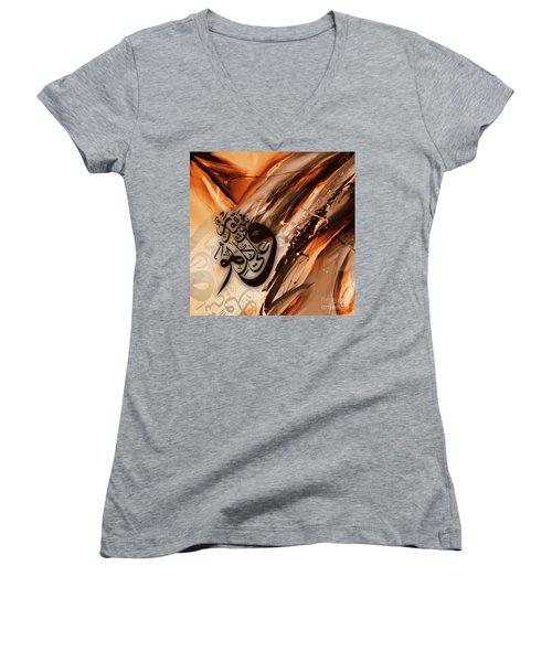 Calligraphy Women's V-Neck T-Shirt