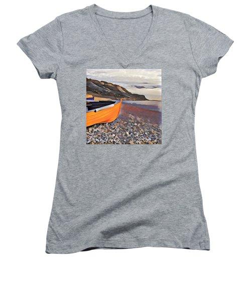 Chesil Beach Women's V-Neck