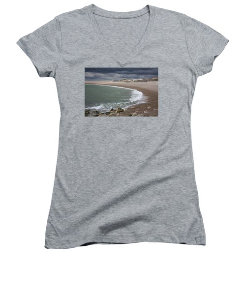 Chesil Cove  Women's V-Neck (Athletic Fit)