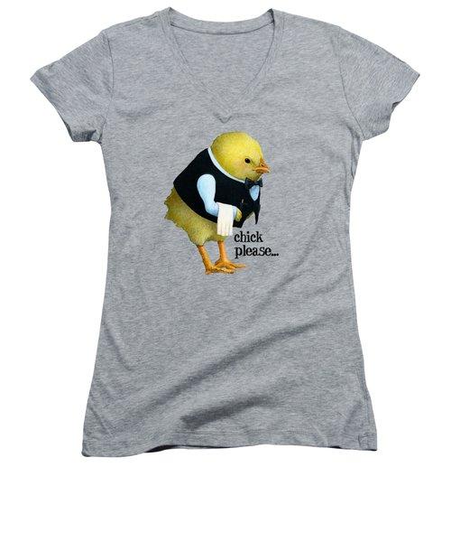 Chick Please... Women's V-Neck