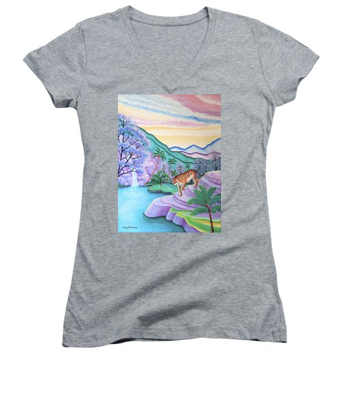 First Light Women's V-Neck (Athletic Fit)