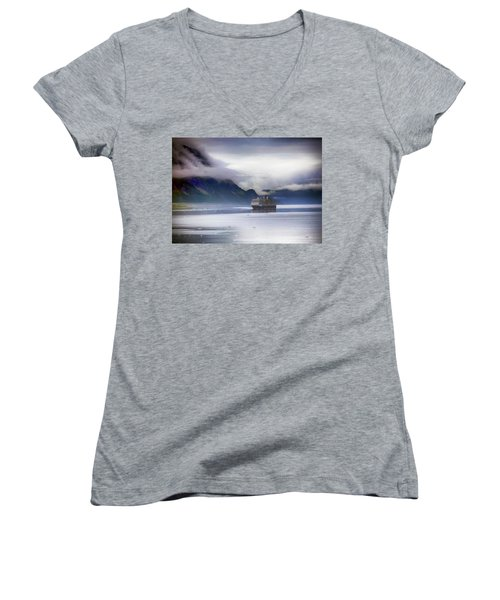 Glacier Bay Alaska Women's V-Neck
