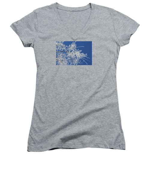 Hoar Frost Women's V-Neck (Athletic Fit)