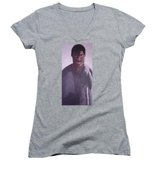 Joshua Maddison Women's V-Neck T-Shirt (Junior Cut) by Joshua Maddison