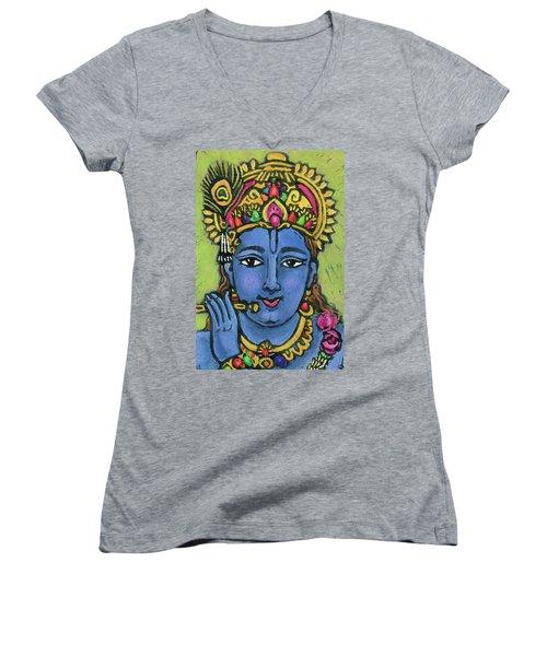 Krishna Women's V-Neck (Athletic Fit)