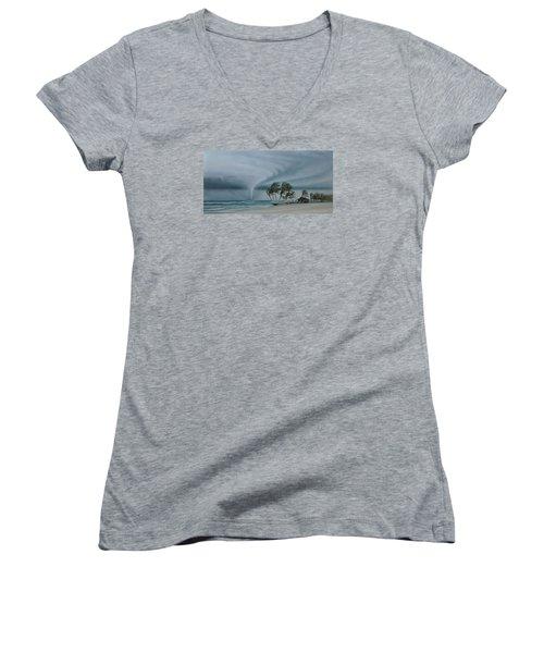 Mahahual Women's V-Neck T-Shirt