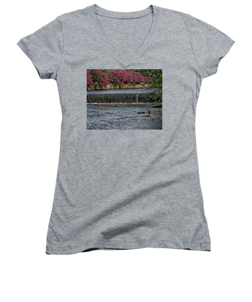 Mill River Park Women's V-Neck