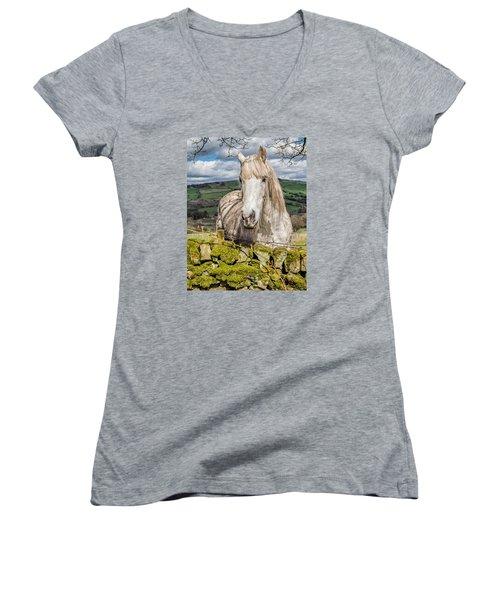 Rustic Horse Women's V-Neck