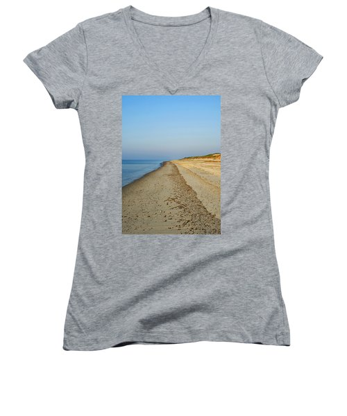 Sandy Neck Beach Women's V-Neck