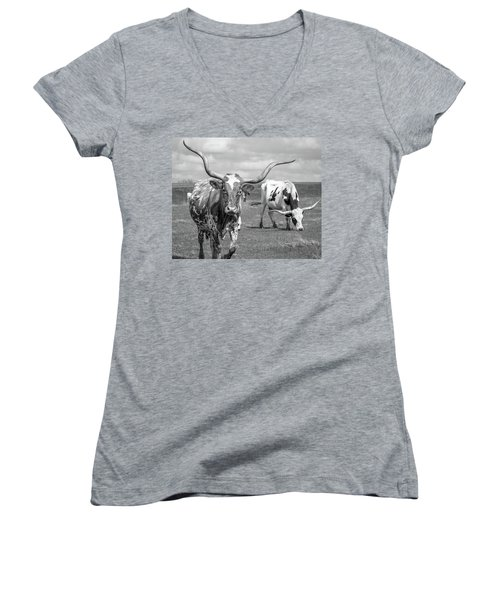 Texas Longhorns Women's V-Neck