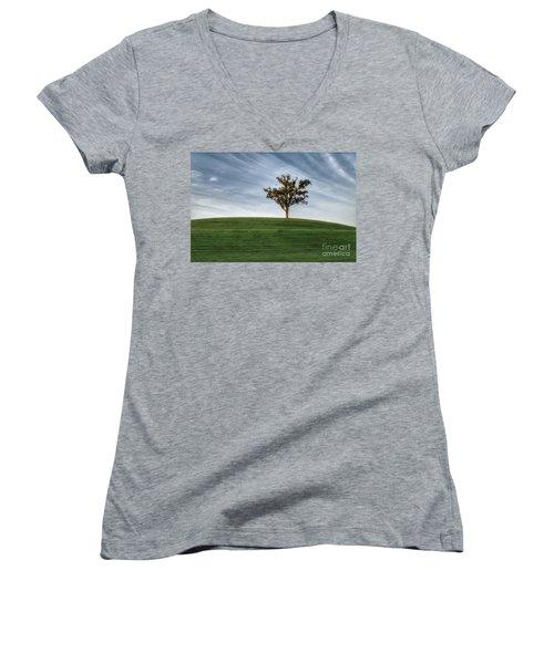 Tree Women's V-Neck T-Shirt