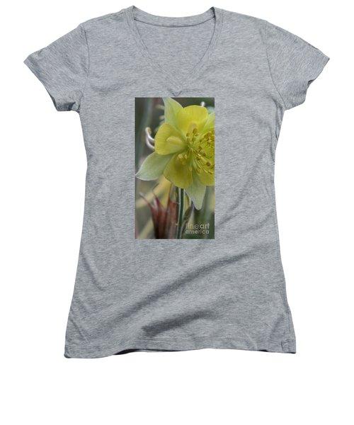 Yellow Flower 4 Women's V-Neck
