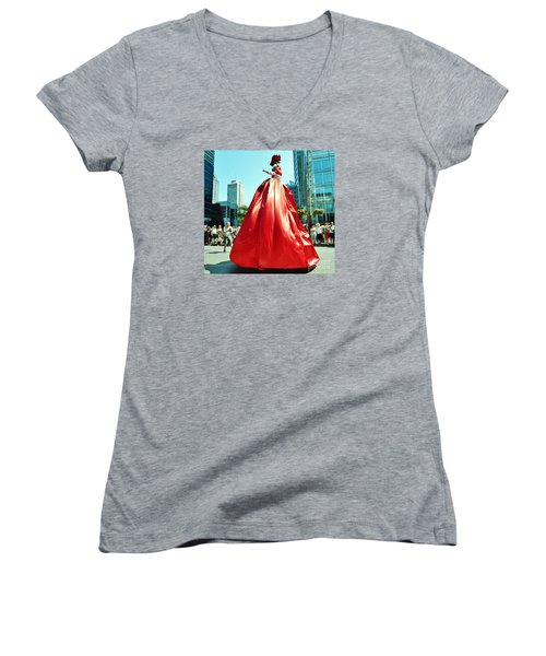 2015 Montreal Lgbta Parade  Women's V-Neck T-Shirt