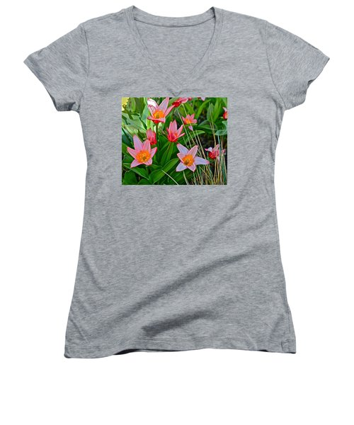 2016 Acewood Tulips 2 Women's V-Neck