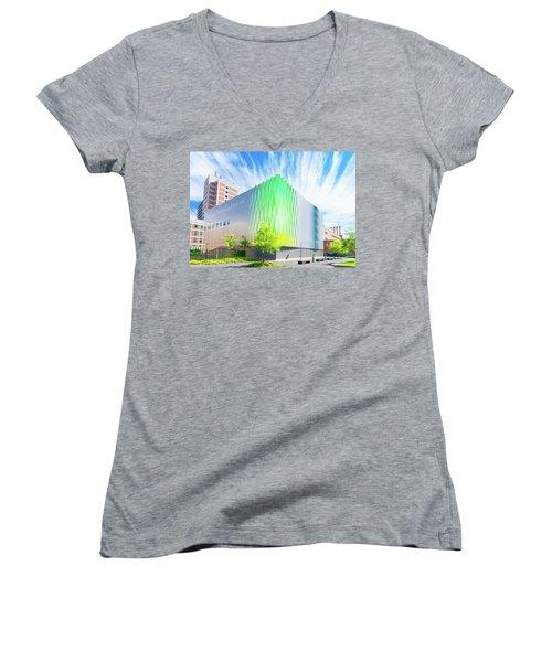 Modern Architecture Women's V-Neck T-Shirt