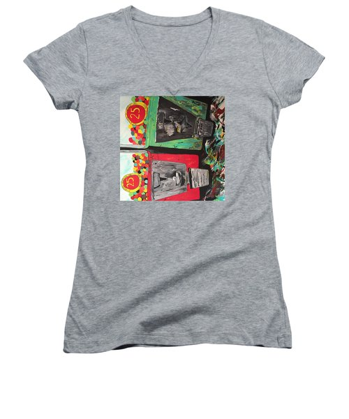 25cts Women's V-Neck (Athletic Fit)
