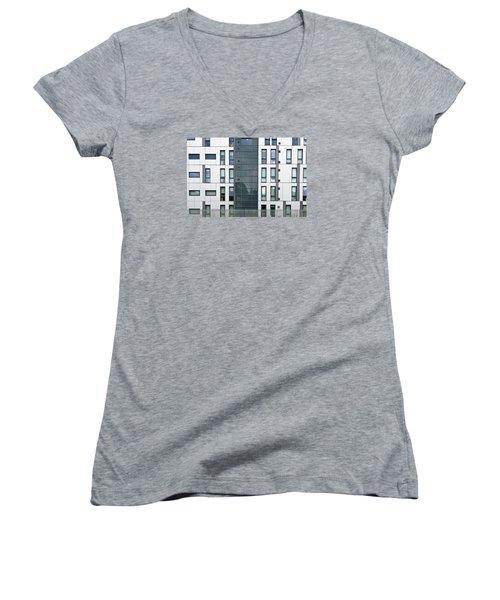 Modern Building Women's V-Neck (Athletic Fit)