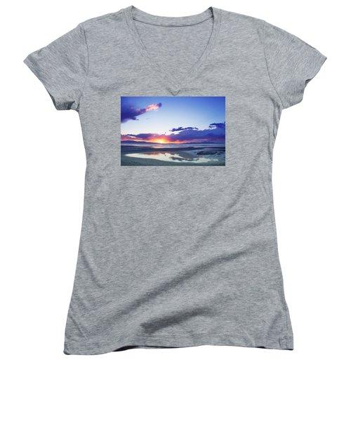 Beautiful Sunset Women's V-Neck