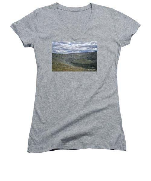 Crater Women's V-Neck T-Shirt