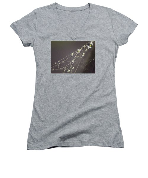Droplets Women's V-Neck