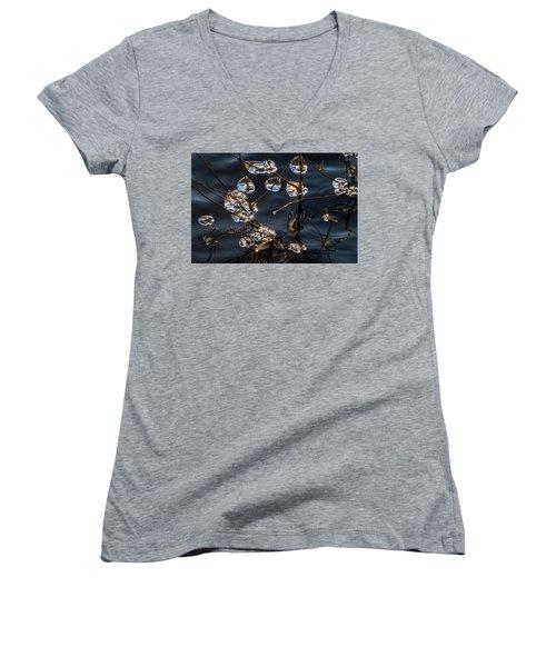 Ice Art Women's V-Neck T-Shirt