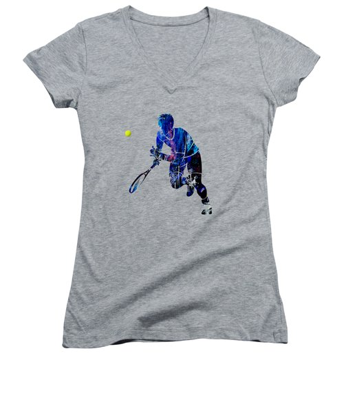 Mens Tennis Collection Women's V-Neck (Athletic Fit)