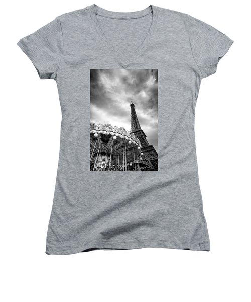 Paris Women's V-Neck